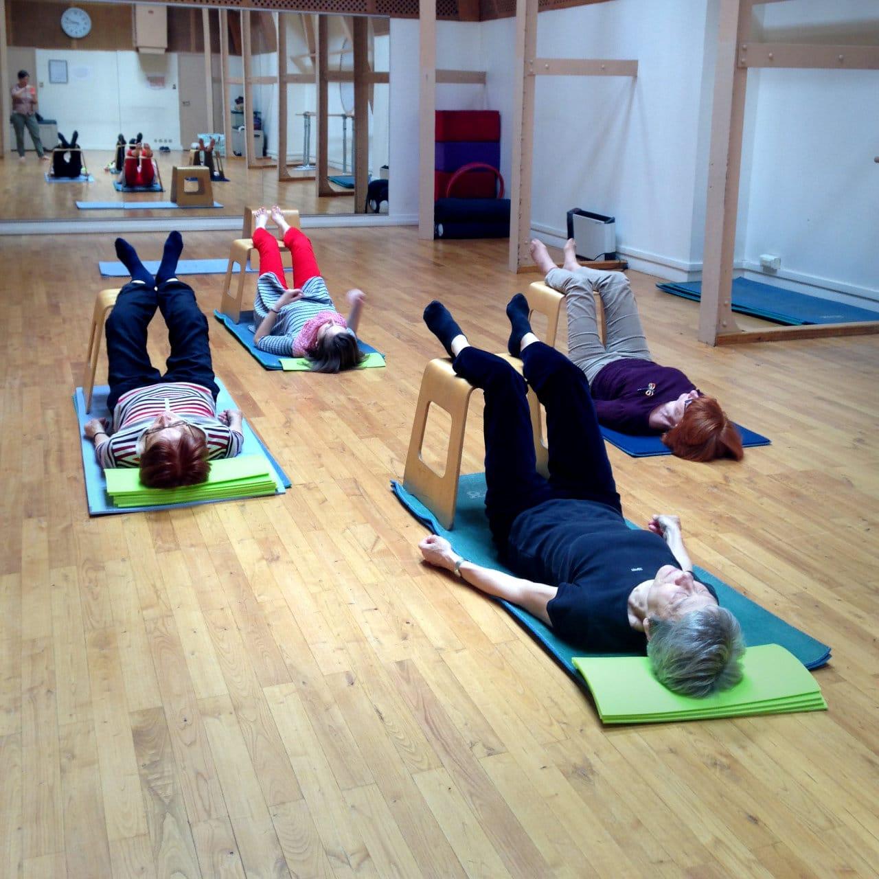 Les cours collectifs de Pilates et de Feldenkrais® avec ID mouvements à Paris