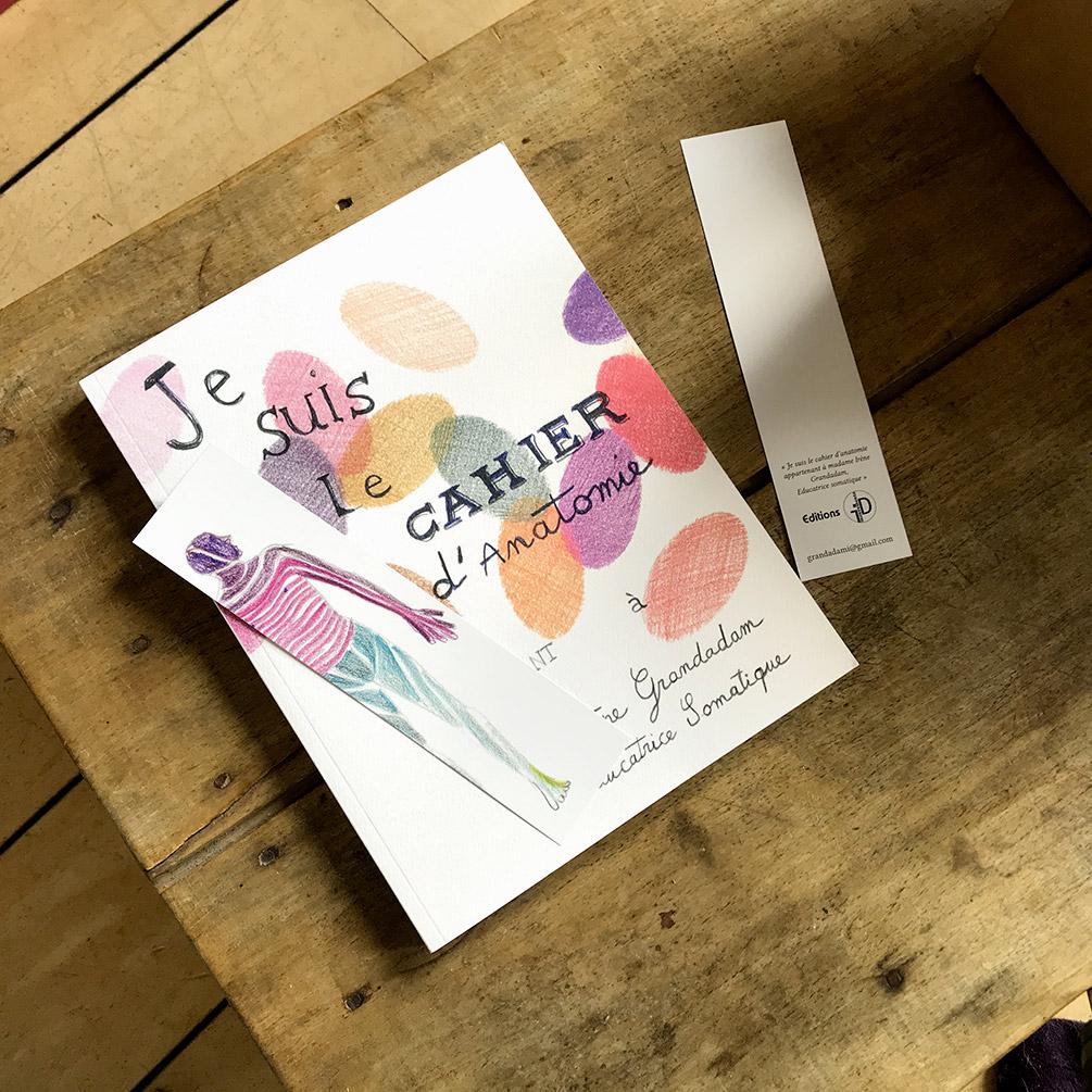 La seconde édition du livre d'anatomie écrit, dessiné et conçu par Irène Grandadam à commander en ligne